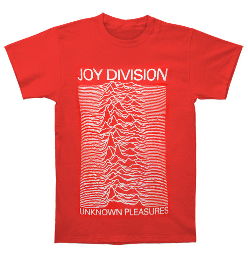Joy Division - Unknown Pleasures Red