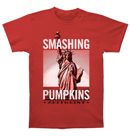 The Smashing Pumpkins - Zeitgeist Statue Red