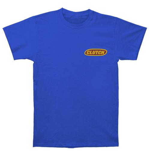 Clutch - Classic Logo Yellow/Blue