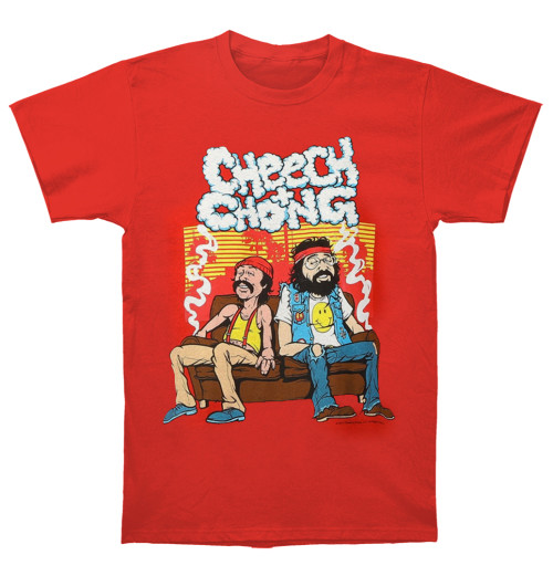 Cheech And Chong - Couch Locked Red