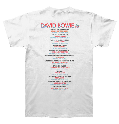 David Bowie - Bowie Is White