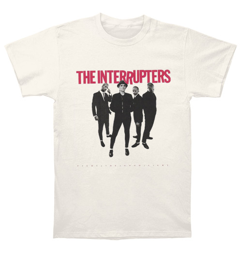 The Interrupters - Fight The Good Fight Cover Cream