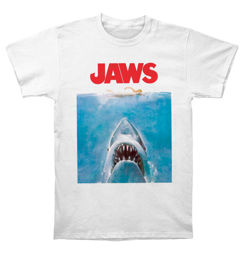 Jaws - Jaws Poster White