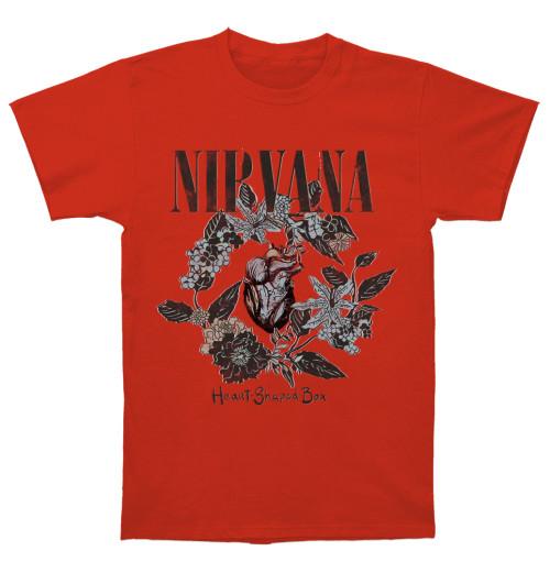 Nirvana - Heart Shaped Box Red