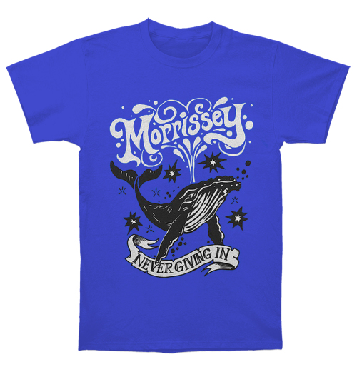 Morrissey - Never Giving In/Whale Blue