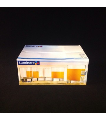 Luminarc Arcoroc Islande Old Fashioned Glass - Pack of 6 pcs image