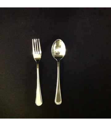 RoyalSteel Hotelware Dinner Spoon & Fork - Set of 6 Pairs image
