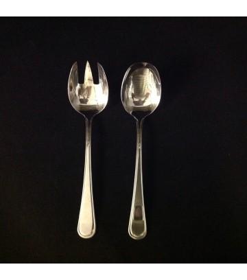RoyalSteel Hotelware Service Spoon & Fork - Set of 1 Pair image