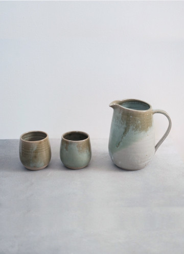 MEADOW JUG SET AND KIMONO