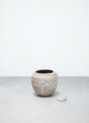 Earth Rounded Vase