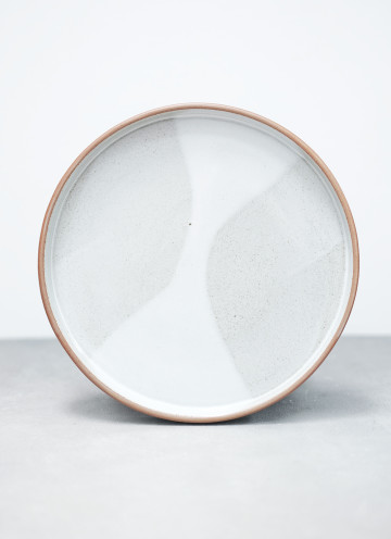 SHIRO ROUNDED PLATE