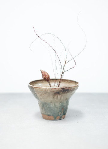 MELTED IKEBANA BOWL