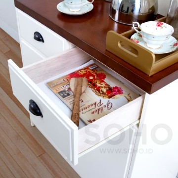Alma Pantry 800 Top Brown