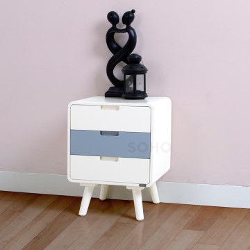 Flip Nightstand Grey