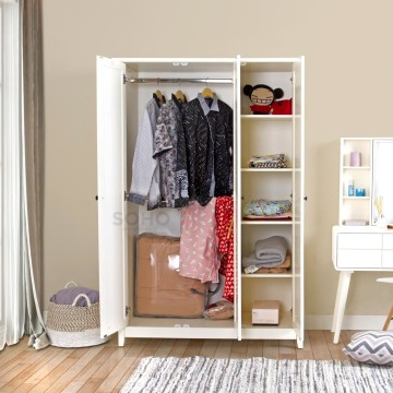 Ashley Wardrobe 3 Pintu