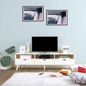 Modern TV Large Ivory