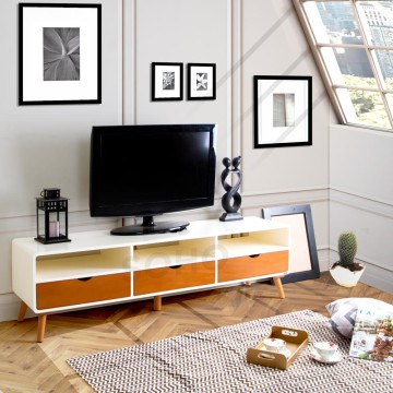 Modern TV Large Two Tone