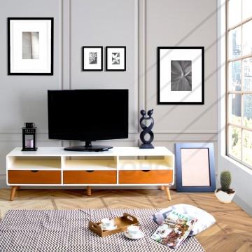 Rak TV - Modern TV Large Two Tone