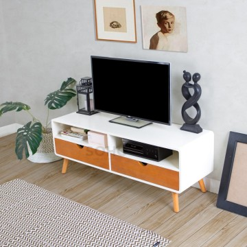 Modern TV Small Two Tone