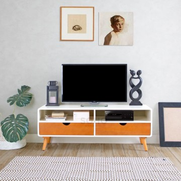 Rak TV - Modern TV Small Two Tone