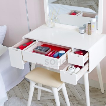 Andrea Dressing Table Ivory