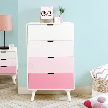 Sunny 4 Drawers Pink