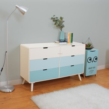 Sunny 6 Drawers Tosca
