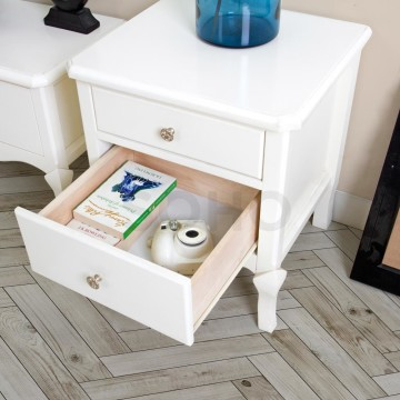 Vienna Side Table Ivory
