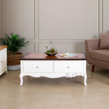 Vienna Coffee Table Top Brown