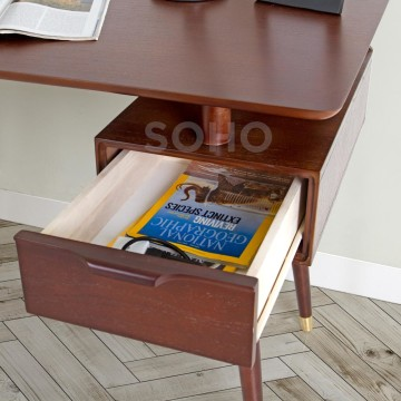 Billy Desk Brown