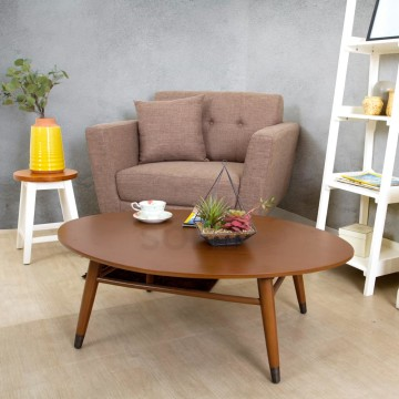 Piccolo Oval Table Brown