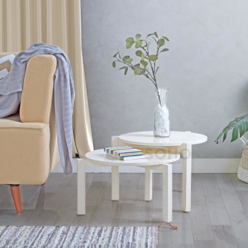 Piccolo Coffee Table 03 Ivory