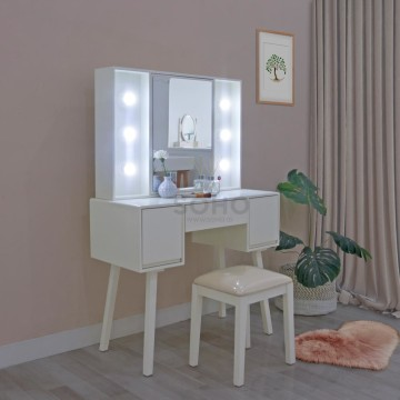 Tiana Dressing Table with LED