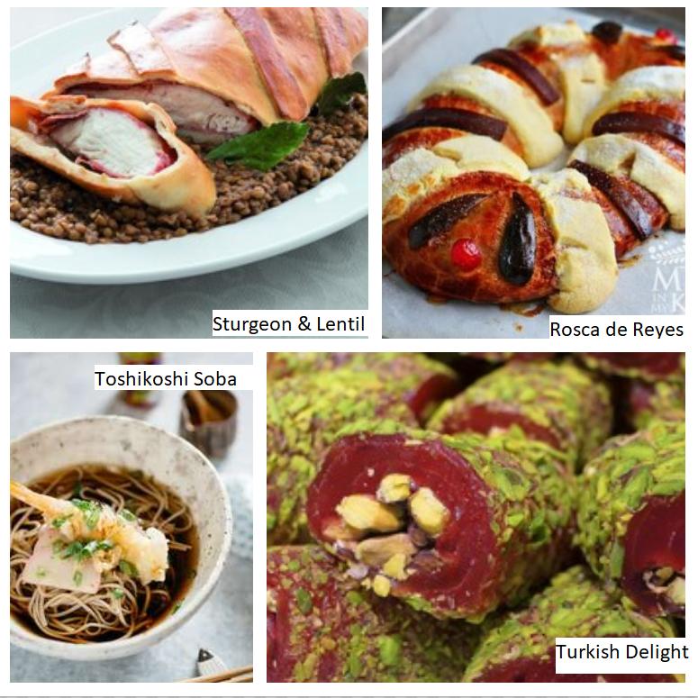 Keliling Dunia di Awal Tahun dengan Makanan image