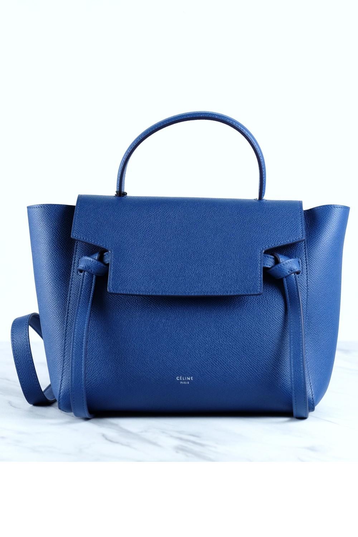 Celine Micro Belt Blue Lazuli
