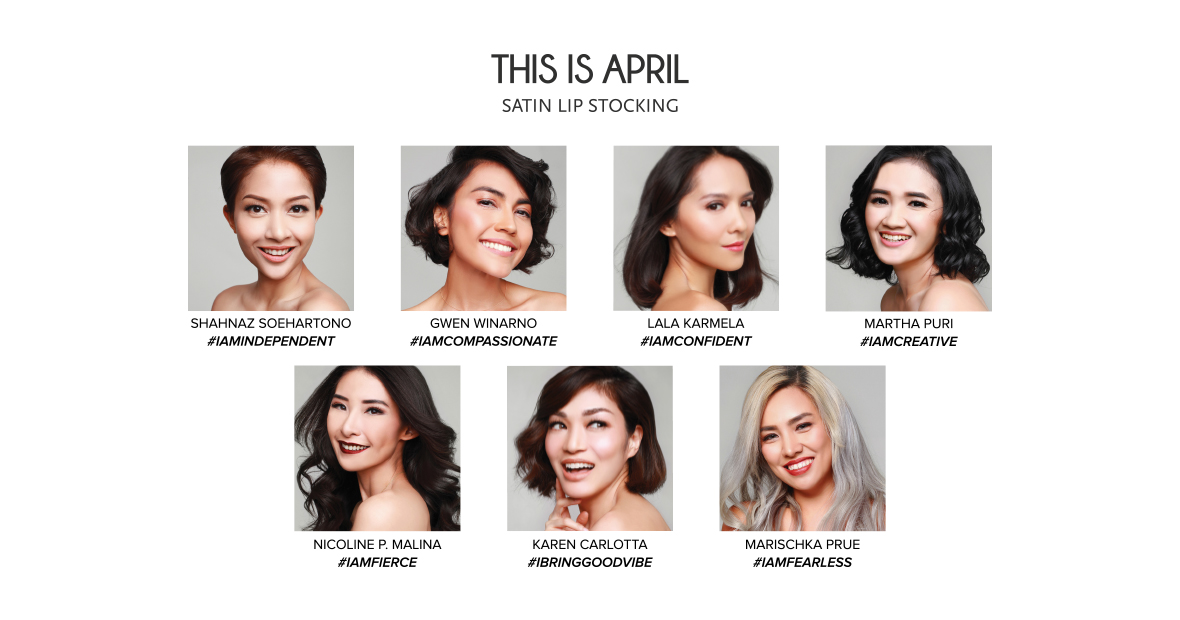 THIS IS APRIL SATIN LIP STOCKING  #BeautyIsNotJustAboutLook image