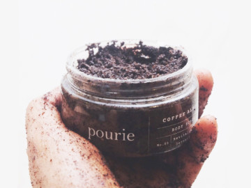 Coffee Almond Scrub